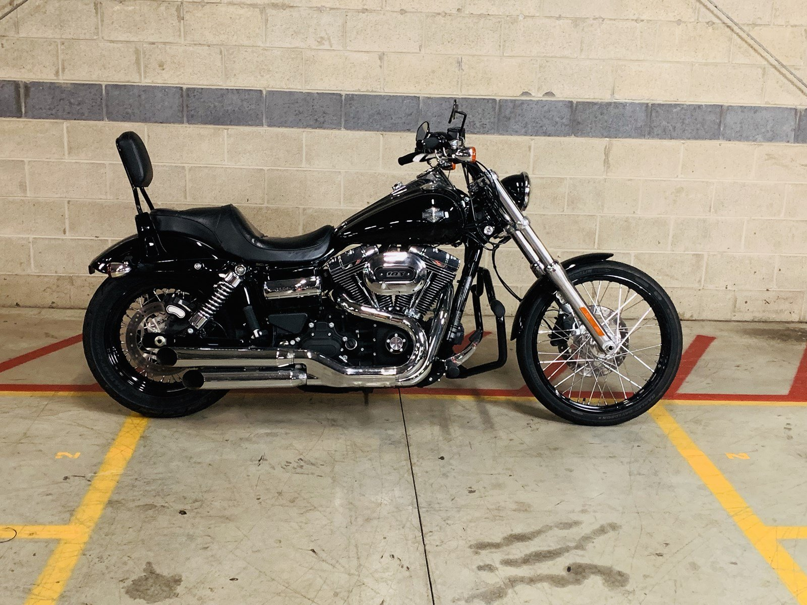 Pre-Owned 2016 Harley-Davidson Dyna Wide Glide FXDWG Dyna