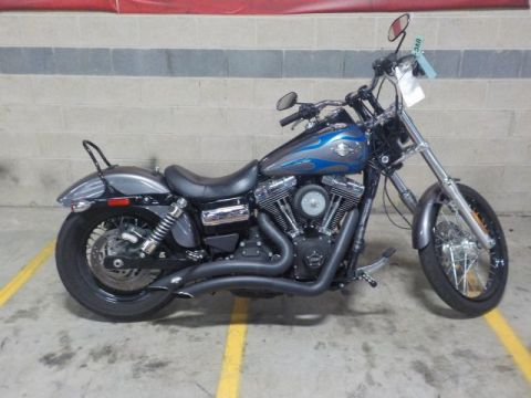 Pre-Owned 2014 Harley-Davidson Dyna Wide Glide FXDWG Dyna