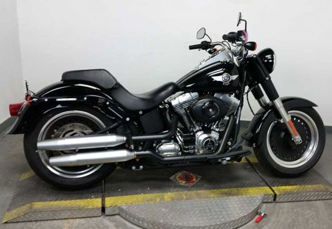 Pre-Owned 2016 Harley-Davidson Softail Fat Boy Lo FLSTFB Touring